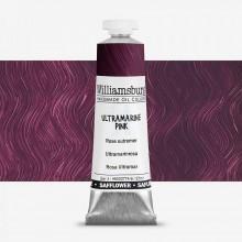 Williamsburg : Oil Paint : 37ml : Safflower Ultramarine Pink