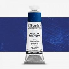 Williamsburg : Oil Paint : 37ml : Safflower Cerulean Blue French