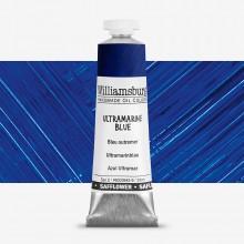 Williamsburg : Oil Paint : 37ml : Safflower Ultramarine Blue