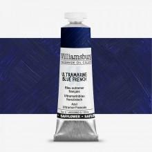 Williamsburg : Oil Paint : 37ml : Safflower Ultramarine Blue French