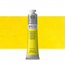Winsor & Newton : Winton : Oil Paint : 200ml : Cadmium Lemon Hue