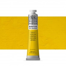 Winsor & Newton : Winton : Oil Paint : 200ml : Cadmium Yellow Pale Hue
