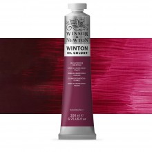 Winsor & Newton : Winton Oil Paint : 200ml : Quinacridone Deep Pink
