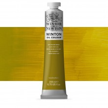 Winsor & Newton : Winton Oil Paint : 200ml : Azo Yellow Green