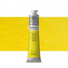 Winsor & Newton : Winton : Oil Paint : 200ml : Lemon Yellow Hue