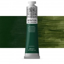 Winsor & Newton : Winton Oil Paint : 200ml : Dark Verdigris