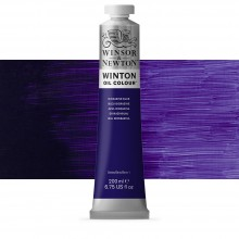 Winsor & Newton : Winton Oil Paint : 200ml : Dioxazine Blue