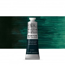 Winsor & Newton : Winton Oil Paint : 37ml : Phthalo Deep Green