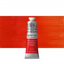 Winsor & Newton : Winton Oil Paint : 37ml : Cadmium Scarlet Hue
