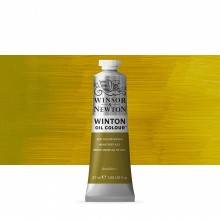 Winsor & Newton : Winton Oil Paint : 37ml : Azo Yellow Green