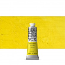 Winsor & Newton : Winton : Oil Paint : 37ml : Lemon Yellow Hue