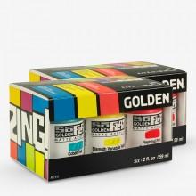 Golden : SoFlat : Matte Acrylic Paint Sets