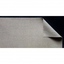 Belle Arti : Clear Primed Rough Linen : No. 681, 430gsm : 2.1 m wide : Per metre/Roll