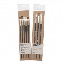 Jackson's : Oil & Acrylic Comparison Brush Sets