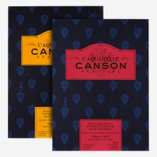 Canson : Heritage : Watercolor Paper Pads : 12 Sheets : 300gsm
