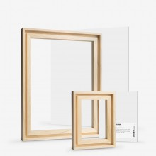 Jackson's : Handmade Board 535 Universal Primed Linen and Ready-Made Lime Wood Frame Set
