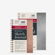 Strathmore : 200 Series : Metallic Sketch Journal : 74gsm : 80 Sheets