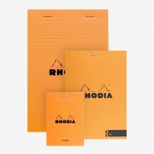 Rhodia : Basics Lined Pad : Orange Cover