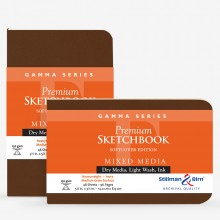 Stillman & Birn : Gamma Softcover Sketchbooks : 150gsm : Med Grain