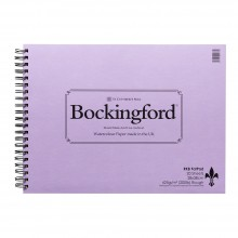 Bockingford : Spiral Fat Pad : 200lb : 425 gsm : 11x15in : 20 Sheets : Rough