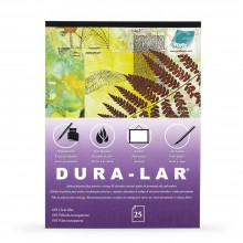 Grafix : Clear .005in Dura-Lar 14x17in Pad : 25 Sheets