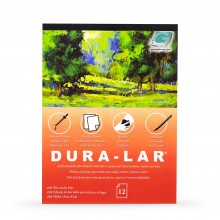 Grafix : Wet Media .004in Dura-Lar : 11x14in Pad : 12 Sheets