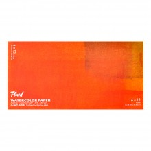 Global : Fluid Easy Block : Watercolor Paper : 300gsm : 6x12in : Cold Pressed