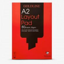 Goldline : Layout Pad : 50gsm : A2 42x59.4cm