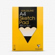 Goldline : Glued Sketch Pad : 95gsm : A4 21x29.7cm