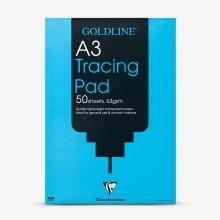 Goldline : Popular Tracing Pad : 63gsm : A3 29.7x42cm