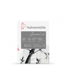 Hahnemuhle : Sumi E : Japanese Ink Paper Pad : 80gsm : 24x32cm : 20 Sheets