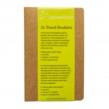 Hahnemuhle : Travel Booklet : 9x14cm : 140gsm : Pack of 2
