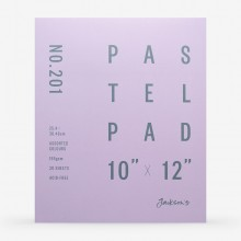 Jackson's : Pastel Paper : Pad : 165gsm : 20 Sheets : Assorted Colours : 10x12in