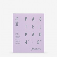 Jackson's : Pastel Paper : Pad : 165gsm : 20 Sheets : Assorted Colours : 4x5in