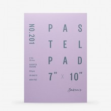 Jackson's : Pastel Paper : Pad : 165gsm : 20 Sheets : Assorted Colours : 7x10in