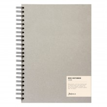 Jackson's : Wire-O Sketchbook : 130gsm : 55 Sheets : A4 : Portrait