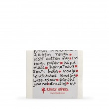 Khadi : Handmade Bound Sketchbook 210gsm : Rough :13x16cm : 20 Sheets