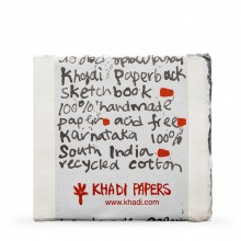 Khadi : Handmade Watercolor Paper : Pad 150gsm : Rough : 15 Sheets : 15x15cm
