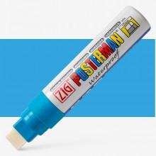 Kuretake : Zig : Posterman Chalk Board Marker : Big & Broad (15mm Nib) : Light Blue