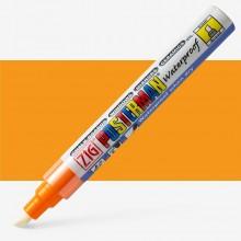 Kuretake : Zig : Posterman Chalk Board Marker : Broad (6mm Nib) : Orange