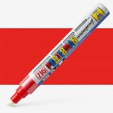 Kuretake : Zig : Posterman Chalk Board Marker : Broad (6mm Nib) : Red