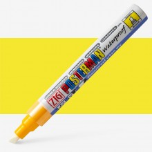 Kuretake : Zig : Posterman Chalk Board Marker : Broad (6mm Nib) : Yellow