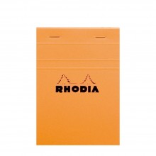 Rhodia : No.13 Graph Pad : Orange Cover : 80 Sheets : A6