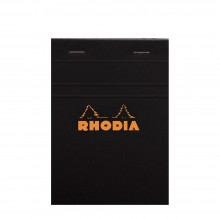 Rhodia : No.13 Graph Pad : Black Cover : 80 Sheets : A6