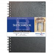 Stillman & Birn : Beta Sketchbook : 7 x 10in Wirebound 270gsm : Natural White : Cold Pressed / Rough