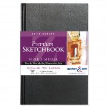 Stillman & Birn : Zeta Sketchbook : 5.5 x 8.5in Hardbound 270gsm : Natural White Smooth