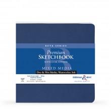Stillman & Birn : Beta Softcover Sketchbook : 270gsm : Cold Press : 7.5x7.5in (19x19cm) : Square