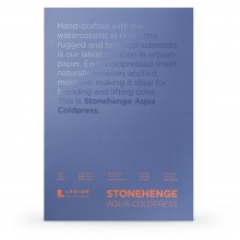 Stonehenge : Aqua Watercolour Paper Block : 140lb (300gsm) : 14x20in : Not
