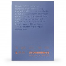 Stonehenge : Aqua Watercolour Paper Block : 140lb (300gsm) : 7x10in : Not