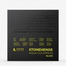 Stonehenge : Aqua Black Watercolour Paper Pad : 140lb (300gsm) : 10x10in : Not